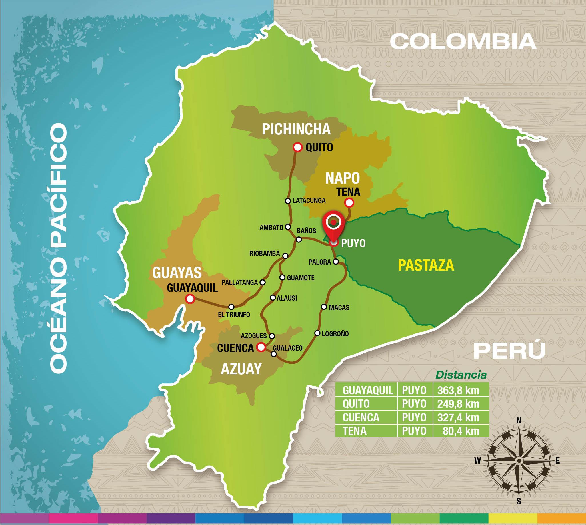 Pastaza travel turismo en la provincia de pastaza ecuador - La maquinista como llegar ...